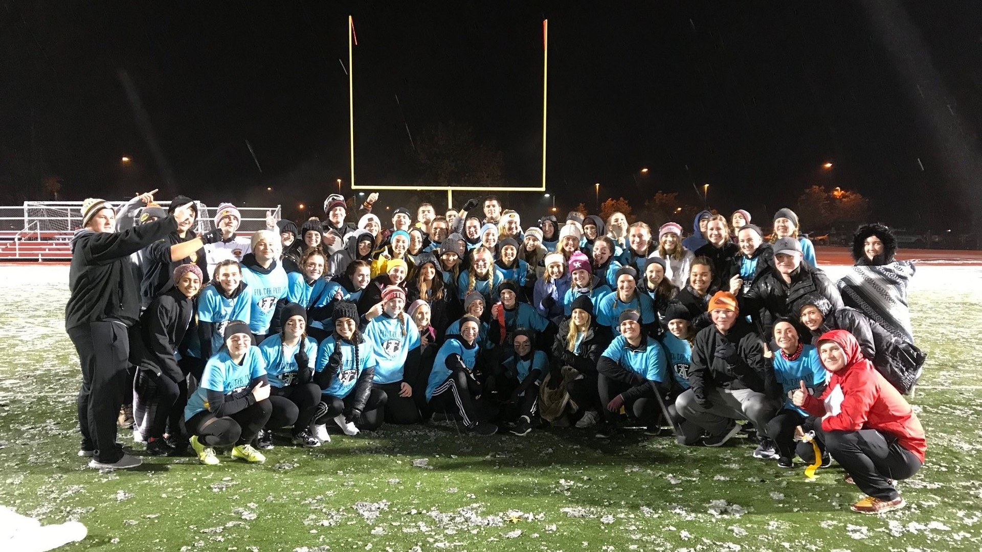 Powderpuff Game Seniors Win!