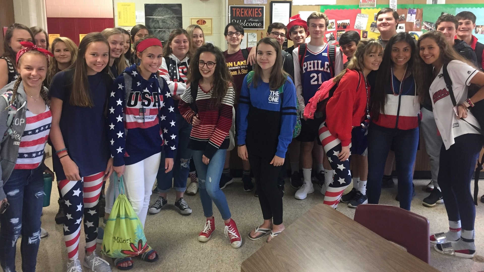 Red White and Blue Day