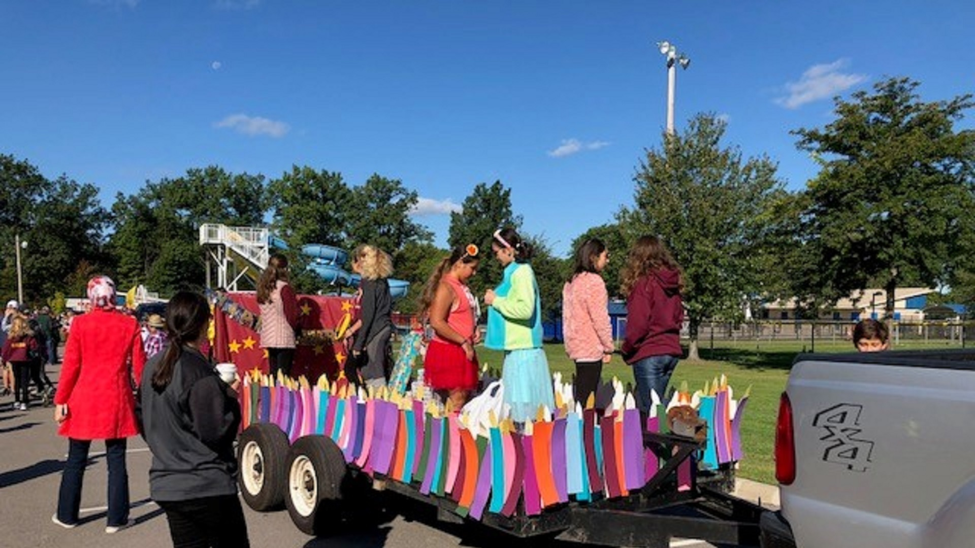 Learwood Parade Float