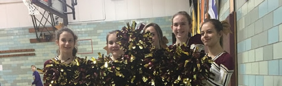 8th Grade Learwood Basketball Cheerleaders