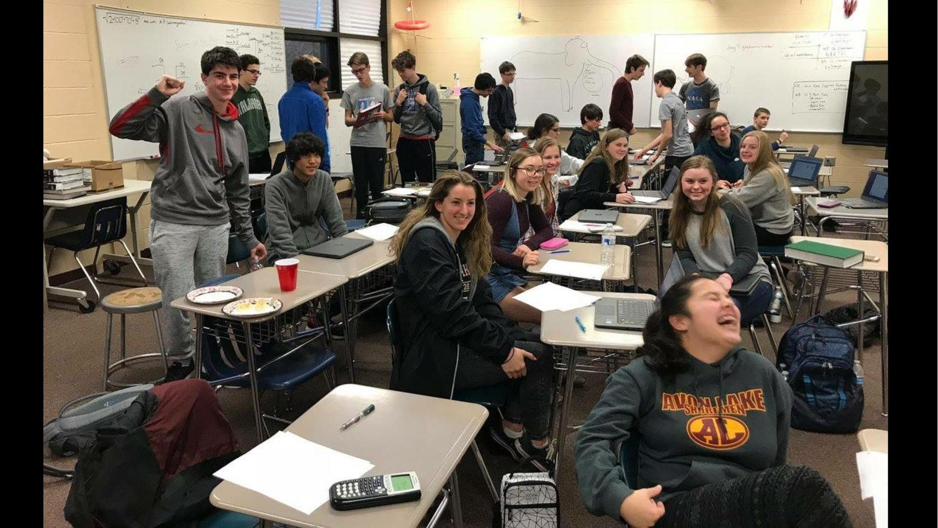 ALHS Math Team wins Final Four Match