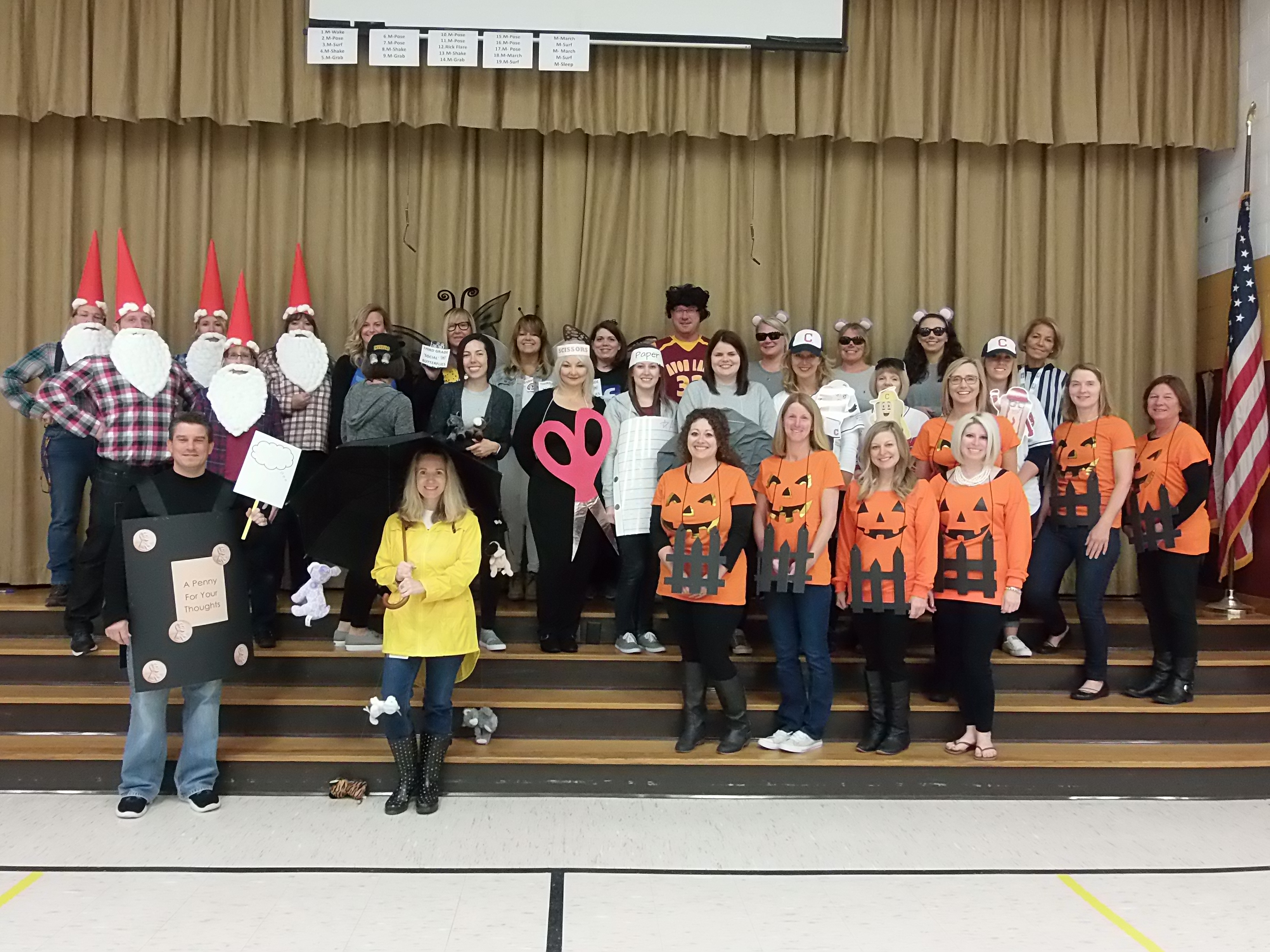 Redwood staff had a spooktacular day!