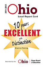 10 Years of Excellent with Distinction District Rating